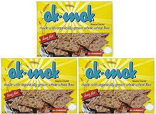 Ak Mak Sesame Crackers, 4.15 oz, 3 pk