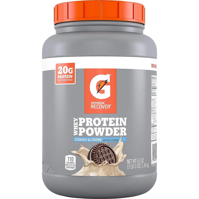 Gatorade Albuquerque Mall Whey Protein Powder Cookies serv lowest price 50 Crème oz 51