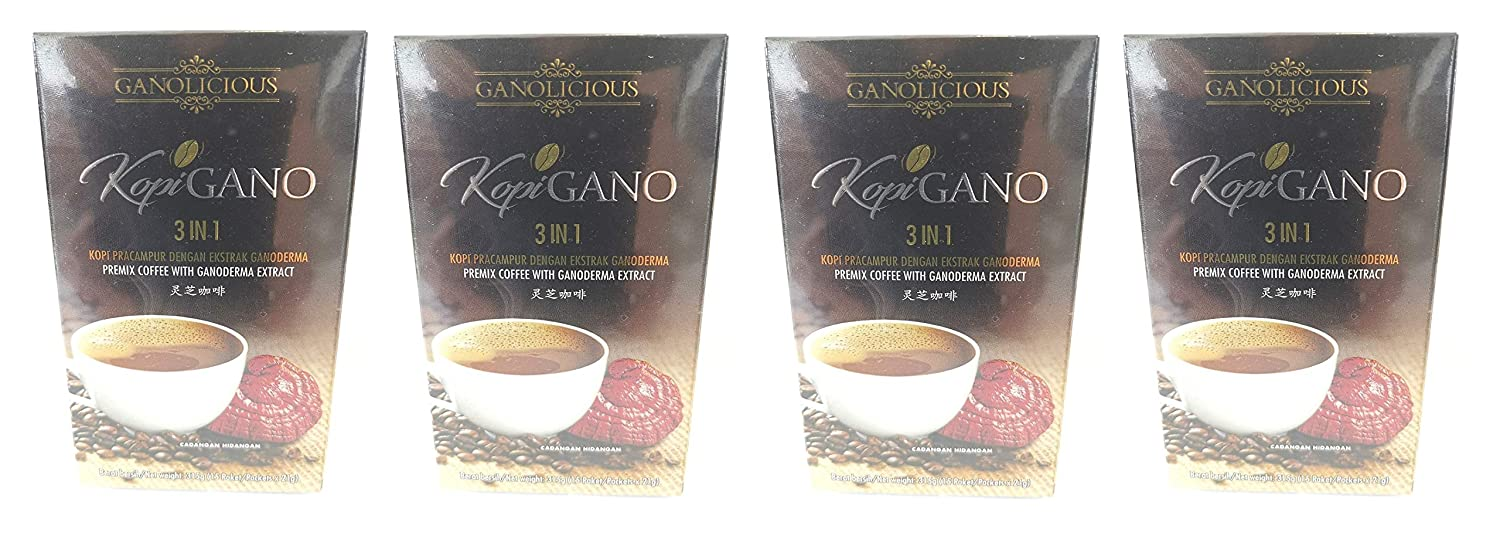 4 Boxes Gano Cafe GanoCafe in 3 Ganoderma Coffee OFFicial 1 A surprise price is realized