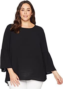 Plus Size Poppy Bell Sleeve Top