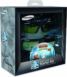 三星 SSG-P2100T 電池 3-D 玻璃套件 - 黑色(兼容 2010 3D 電視)