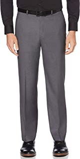 Perry Ellis Men's Classic Fit Stretch Nails Head Pant