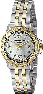 Raymond Weil Women's 5399-SPS-00995 Tango Stainless Steel Two-Tone Dress Watch with Diamonds