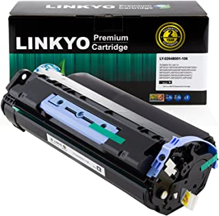 LINKYO Compatible Toner Cartridge Replacement for Canon 106 0264B001AA (Black)