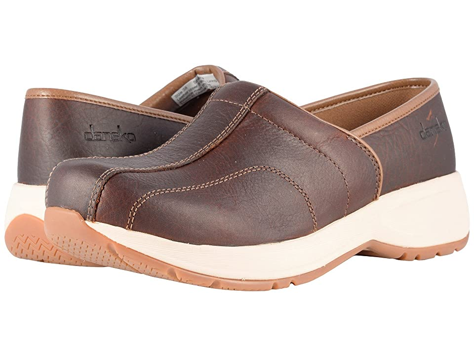 Dansko Shaina (Brown Tumbled Pull Up) Women