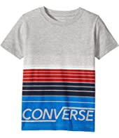 Converse Kids - Multi Stripe Tee (Little Kids)