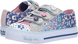 SKECHERS KIDS - Shuffles - Paw Party 10859L Lights (Little Kid/Big Kid)