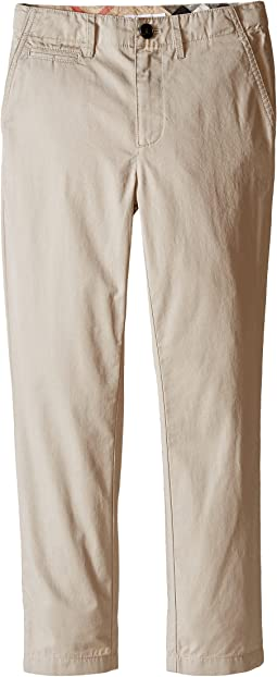 Burberry Kids Teo Casual Trousers (Little Kids/Big Kids)