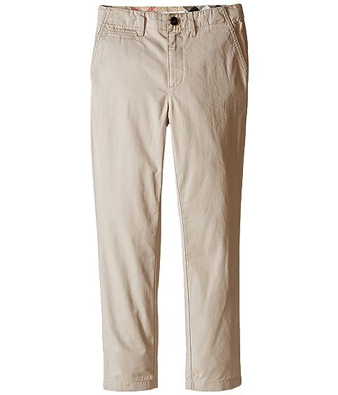 Burberry Kids Teo Casual Trousers (Little Kids/Big Kids)