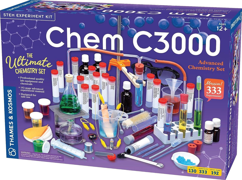 Thames Kosmos Chem C3000 V 2.0 Science Set Kit Max 47% Max 49% OFF OFF Chemistry w