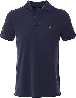SUNDEK Men's Garment Dyed Maiden Polo Shirt Navy
