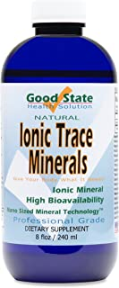 Good State Liquid Ionic Trace Minerals (96 servings at 125 mg - 8 fl oz)