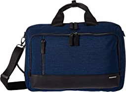 "17"" Lightweight Business Nylon - Convertible Three-Way Bag"
