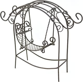 Touch of Nature Garden Arch with Swing, Mini, Rustic (50556)