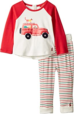 Applique Knit Top and Pants Set (Infant)