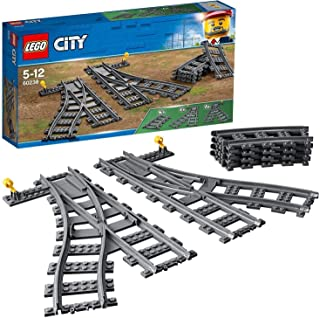 LEGO 60238 City Trains Växlar, Byggsats för Barn, Byggklossar, Barnleksaker