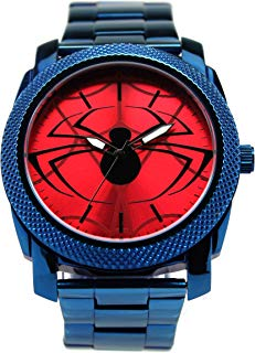 Spider-Man Homecoming Acero Inoxidable Reloj para Hombre (spd8001)