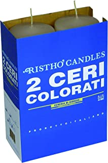 Risthò 56204_77 Candles, Wax, Taupe, One Size