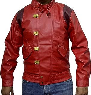 Akira Kaneda Leather Jacket Capsule & Text Manga Katsuhiro Otomo Faux XS-3XL