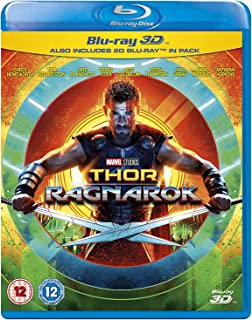 Thor Ragnarok [Blu-ray 3D + Blu-ray] [International version]