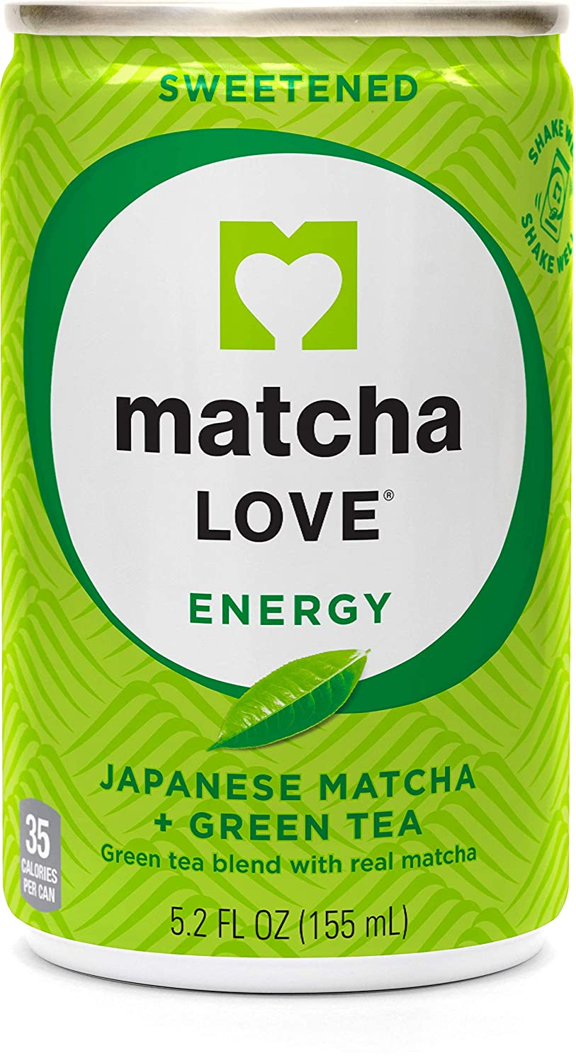Matcha New mail order Love Green Tea Sweetened Energy Shots 5.2 of Pack Ounce Spring new work one after another