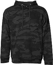 black camouflage hoodie