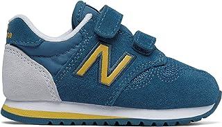 (ニューバランス) New Balance 靴?シューズ キッズランニング 520 Hook and Loop Blue with Yellow ブルー イエロー US 9.5 (16.5cm)
