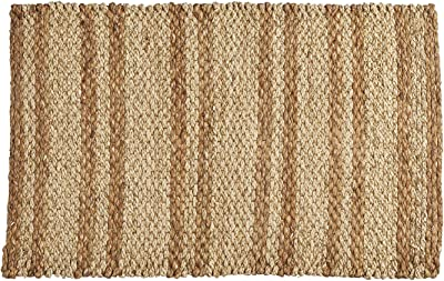 LONGDAY-Women Tops 47th & Main Seagrass Doormat, Medium, White-e