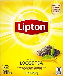 Lipton Loose Tea For An Iced Tea or Hot Tea Beverage Black Tea Can Help Support a Healthy Heart 8 oz