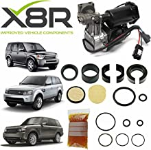 LAND ROVER LR3 2005-2009 AIR SUSPENSION COMPRESSOR AND DRYER REPAIR KIT FIX X8R46