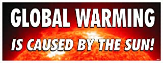 Bumper Sticker - Global Warming is Caused By The Sun