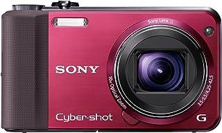 Sony DSC HX7VR Digitalkamera (16 Megapixel, 10 fach opt. Zoom, Full HD Videoaufnahme, GPS, 7,6 cm (3 Zoll) Display, bildstabilisiert) rot