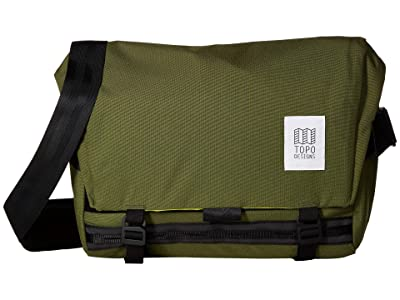 Topo Designs Messenger Bag (Olive) Messenger Bags