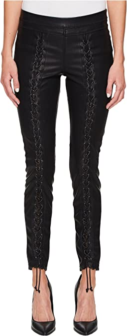 Blank NYC - Vegan Leather Lace-Up Skinny in Easy Street