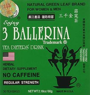 Diet Tea for Men and Women 2.18 oz 30 Tea Bags (Pack of 6)