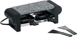 Kela 66493 appareil à raclette avec planche en granit, 2 personnes, coloris noir, 'Splügen'