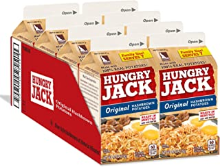 Hungry Jack Real Potato, Gluten Free, Original Hashbrowns 4.2oz (8 Pack)