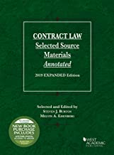 Contract Law, Selected Source Materials Annotated, 2019 Expanded Edition (Selected Statutes)