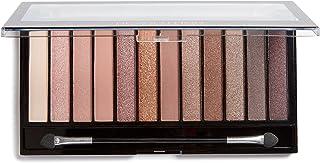 Makeup Revolution, Eye shadow Palette, Nude Eyeshadow Palette, Face Makeup, Iconic 3 Palette by Revolution Beauty, 12 Eye ...