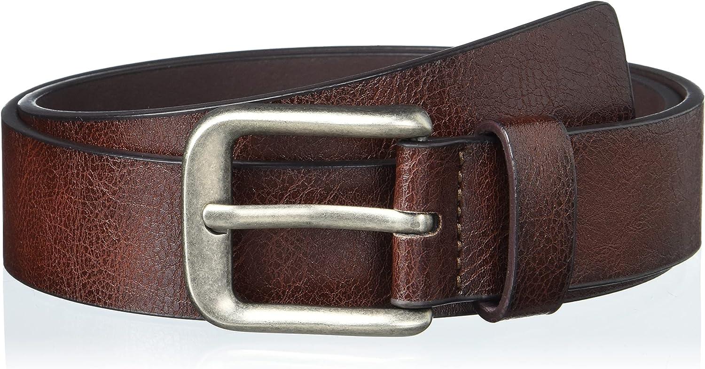 Perry Ellis Men's Casual Leather Belt