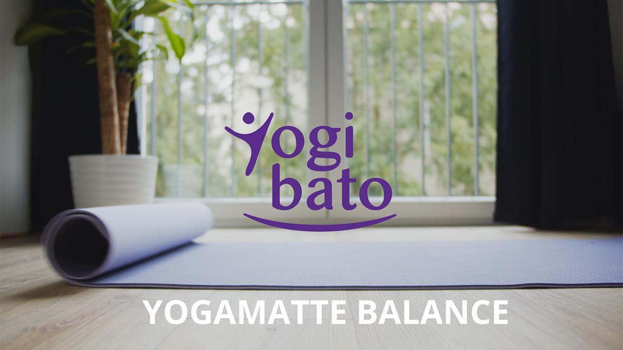 TPE Gymnastikmatte Sportmatte Yoga Mat Yogibato Yogamatte Balance rutschfest