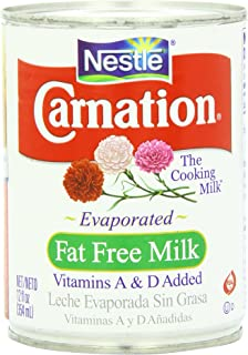 Carnation Evaporated Fat Free Milk Pack of 4