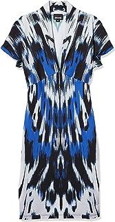 Just Cavalli womens Just Cavalli Womens Ikat Wing Print Dress Dress