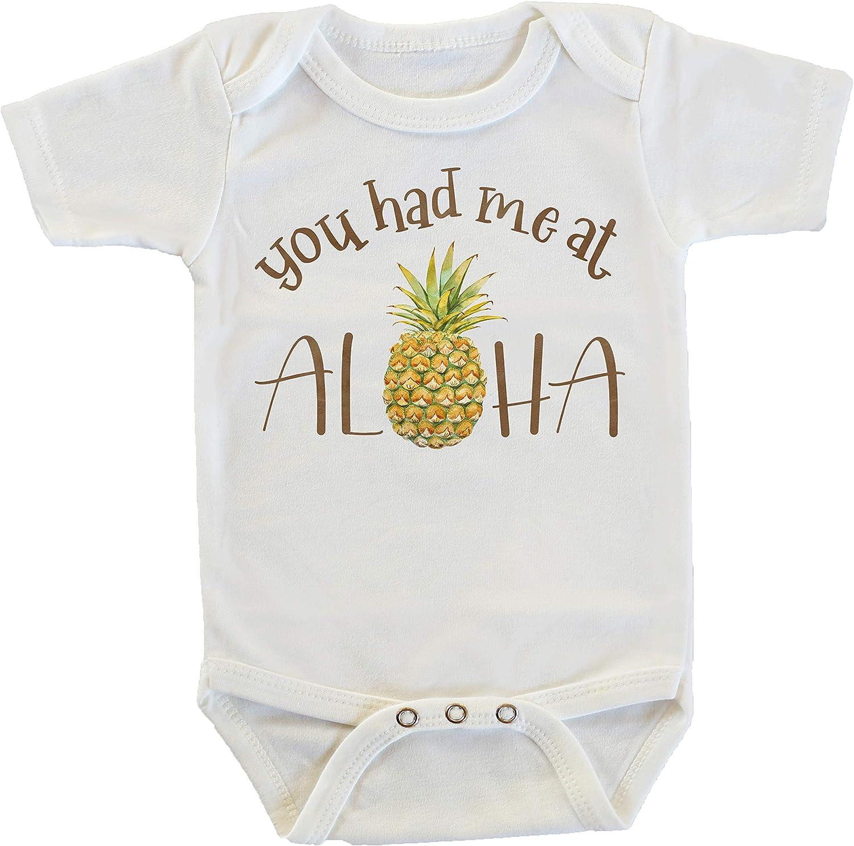You Had Me At Aloha Pineapple Onesie/Bodysuit