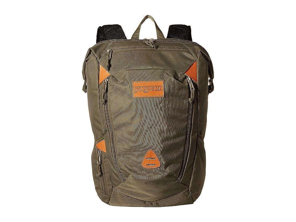 JanSport Shotwell (Green Machine) Backpack Bags