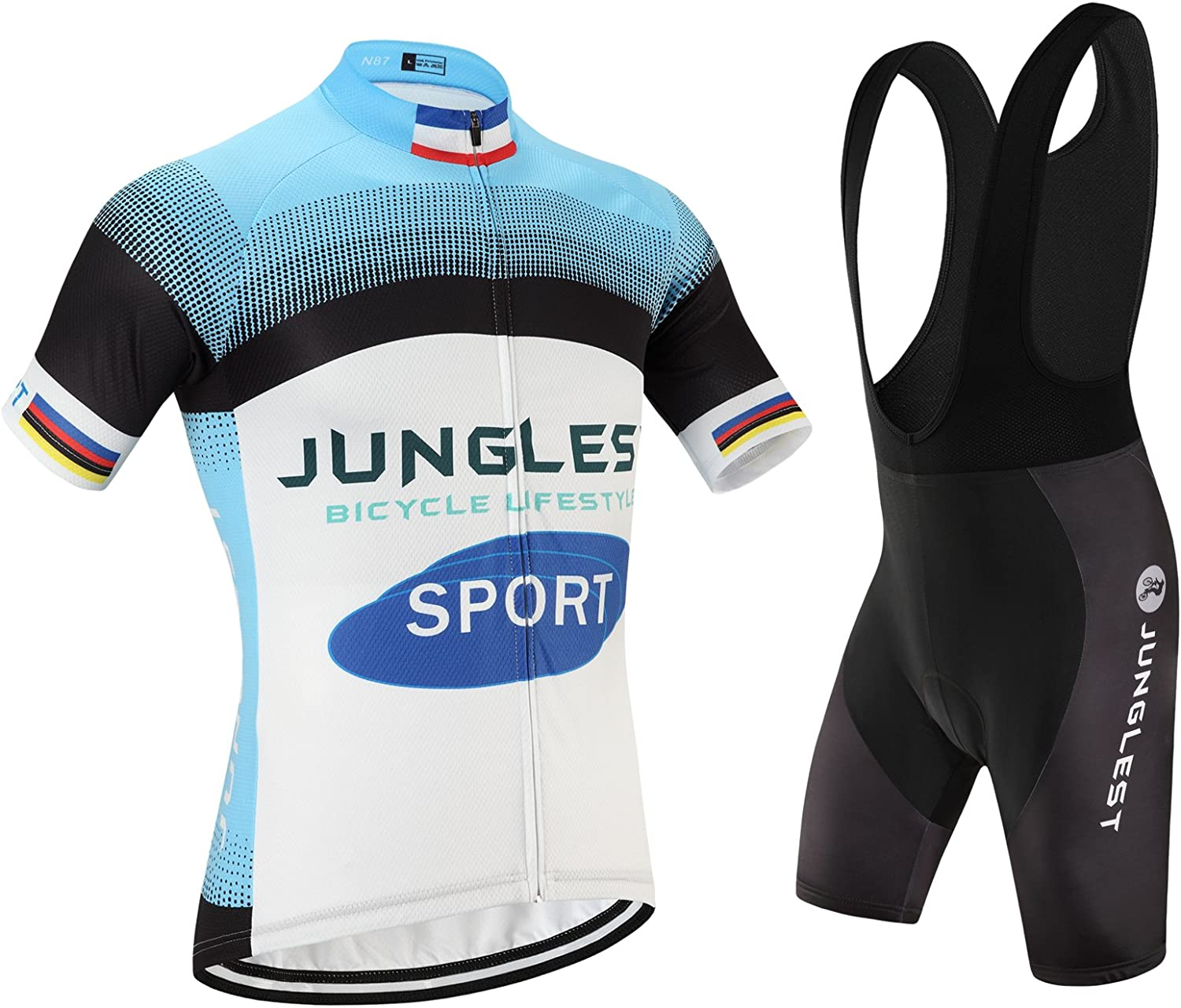 Cycling jersey Set, Maillot de Cyclisme Wen Homme Short sleeve Manches Courtes(S5XL,option bib Cuissard,3D pad Coussin) N87