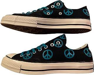 حذاء Chuck Taylor 70 منخفض بيس علامة قماشية برباط