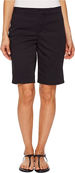 NYDJ Petite Petite Bermuda Shorts in Black