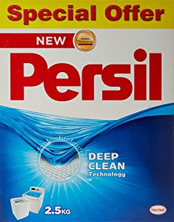 Persil High Foam Detergent Powder, Pack of 2 x 2.5 kg