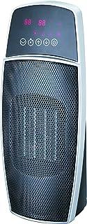 Domair Ovoid cerámica pantalla LED con mando a distancia–Calefactor 1500W